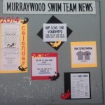 Swim Team Bulletin Board