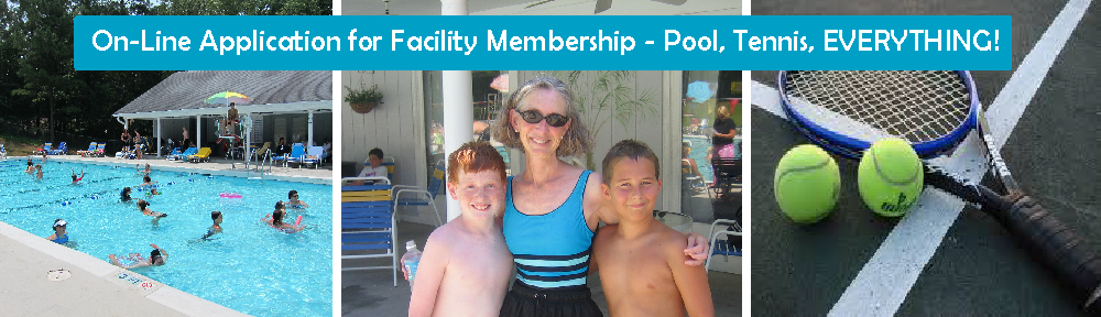 On Line Family Facility Membership Application 716 Murraywood Swim Racquet Club