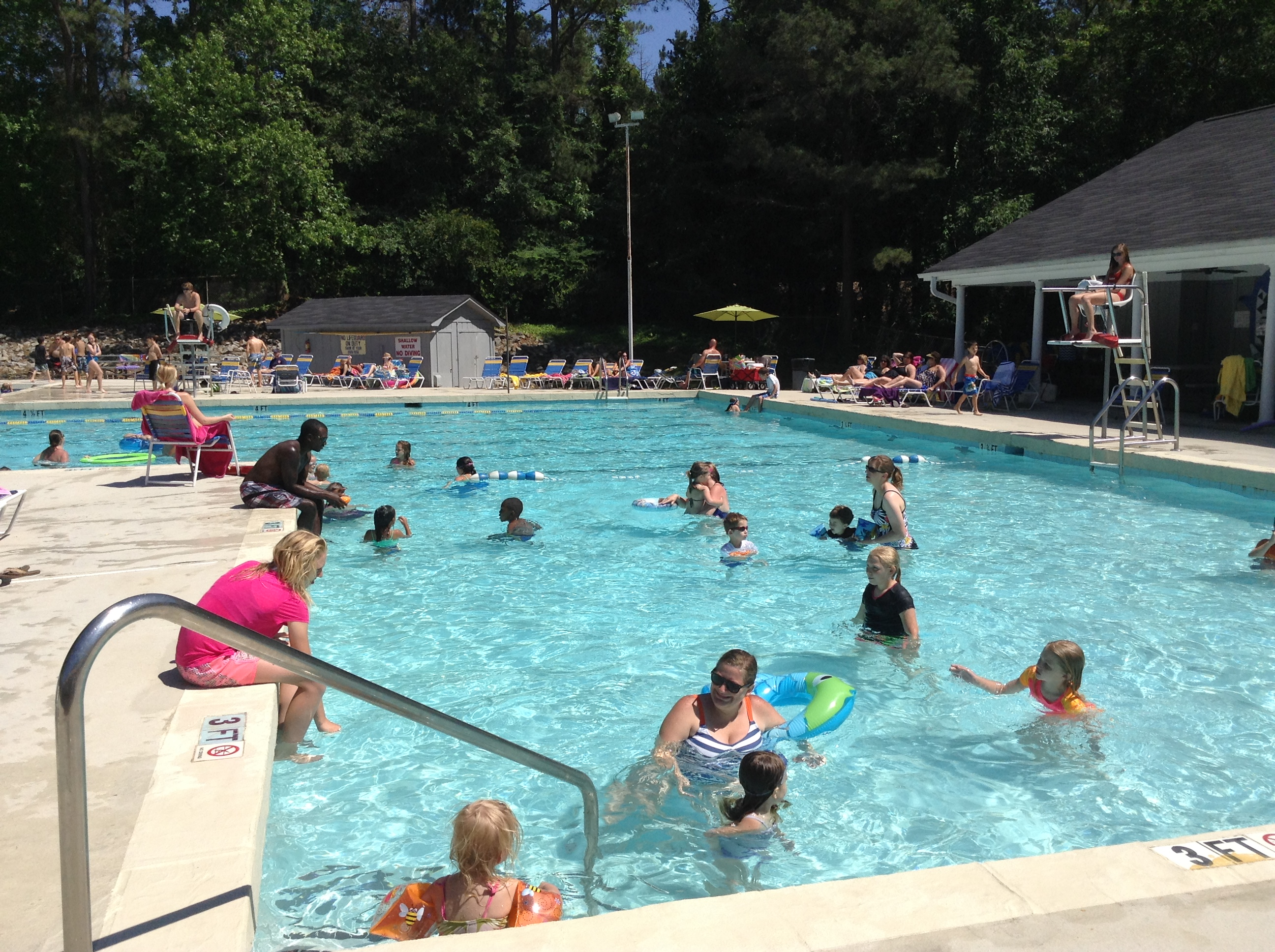 Memorial day cookout was glorious murraywood swim - Emergency action plan swimming pool ...